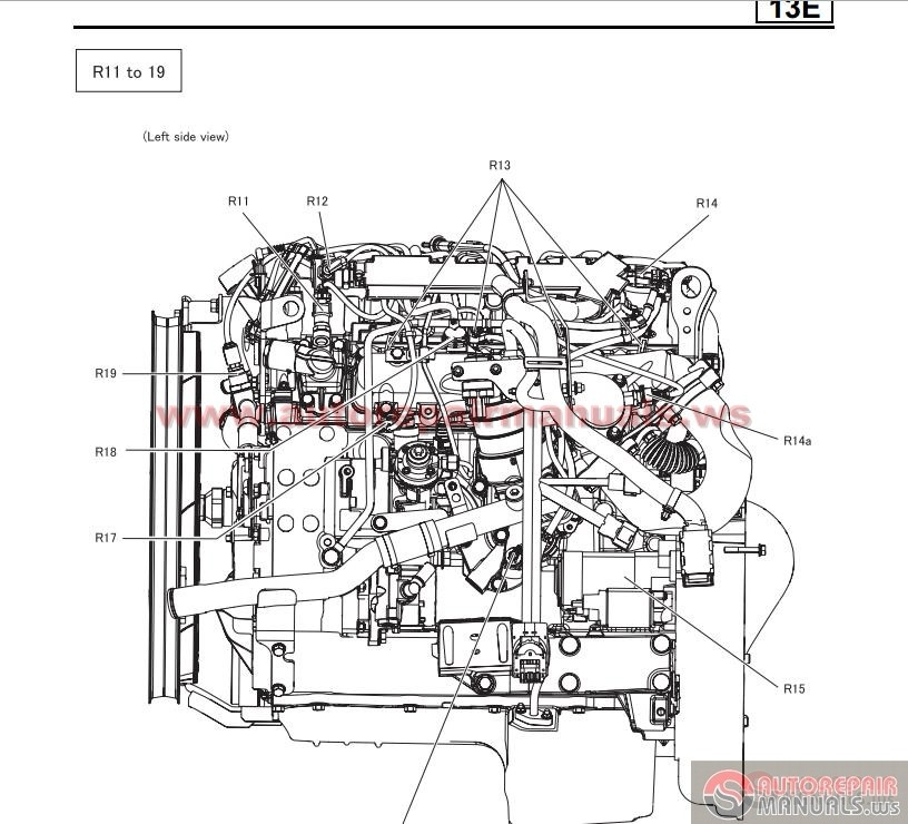 Mitsubishi 6M60 Workshop Manual