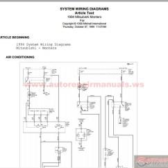Mitsubishi Pajero Radio Wiring Diagram Dodge Dart 1994 | Auto Repair Manual Forum - Heavy Equipment Forums ...