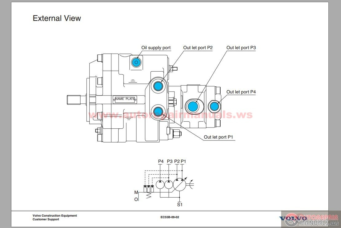 Volvo Ec55b Manual Auto Electrical Wiring Diagram 2007 Mercury Milan Engine Pro Excavator
