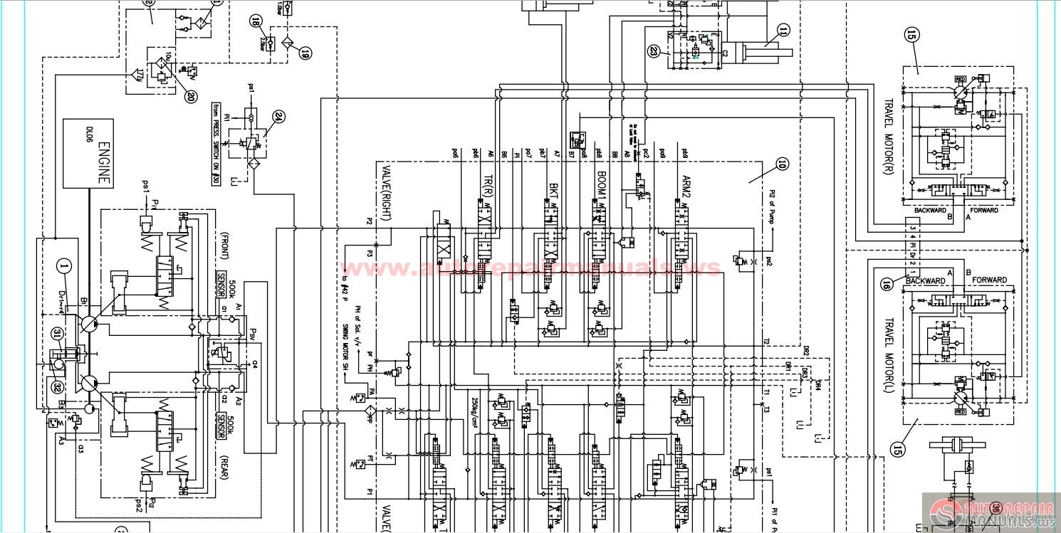 763 Bobcat Hydraulic Schematic Pictures to Pin on