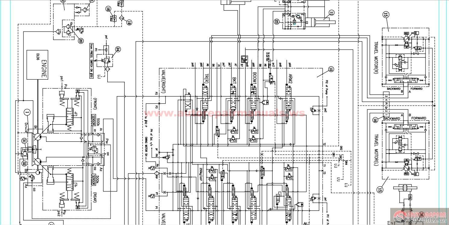 hight resolution of doosan excavator wiring diagram get free image about