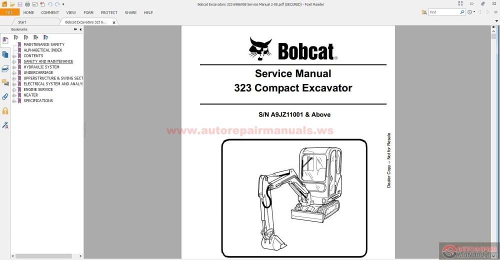 medium resolution of 773 bobcat hydraulic diagram