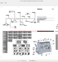cat c7 on highway engine electrical schematic auto repair manual cat c7 engine schematic [ 1600 x 863 Pixel ]
