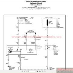2001 Isuzu Npr Radio Wiring Diagram Australian 3 Phase Plug Trooper Diagram, Isuzu, Get Free Image About