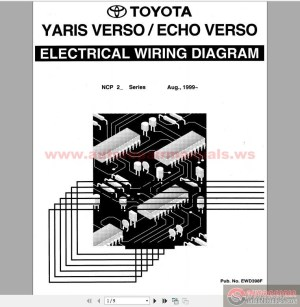 Toyota Yaris, Echo Verso 1999 Electrical Wiring Diagram | Auto Repair Manual Forum  Heavy