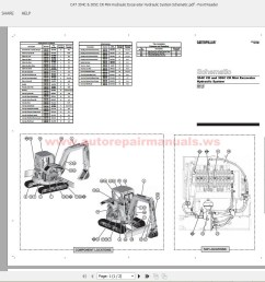 cat 305 cr parts manuals 28 images cat caterpillar 305cr caterpillar wiring schematics at cita [ 1600 x 862 Pixel ]