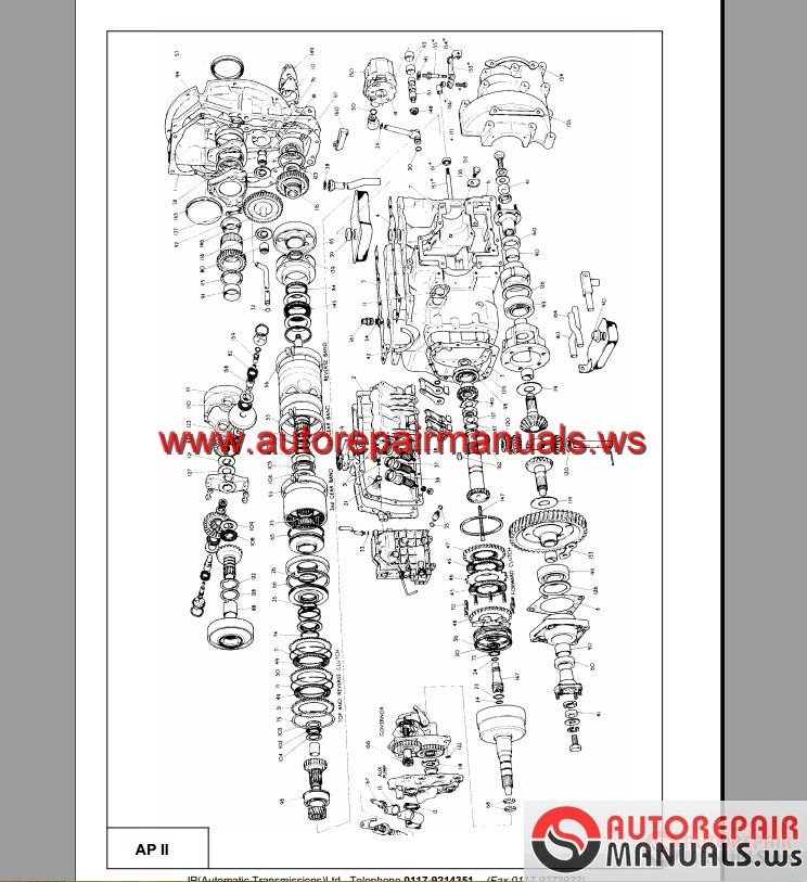Installation and Repair of Automatic Transmission Cars