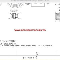 Wiring Diagram Qsm11 5 Prong Relay 12 Volt Double Pole Throw Cummin Qsv81g And Qsv91g Auto Repair