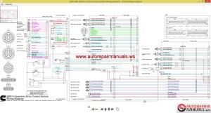 Cummins QSX15 GDrive Control System Wiring Diagram | Auto