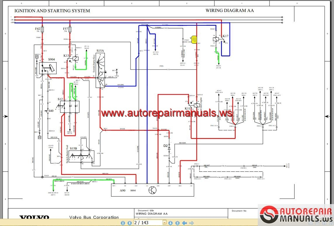 hight resolution of  volvo bus wiring diagram on wiring diagram on international truck electrical diagrams