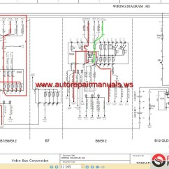 Volvo Semi Truck Wiring Diagram Bluebird Bus Vn Schematic Get Free Image About