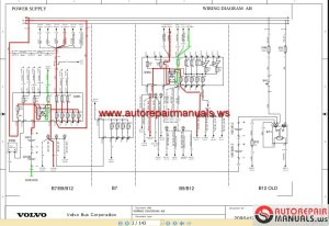 Volvo Bus B7,B9,B12 Wiring Diagram | Auto Repair Manual