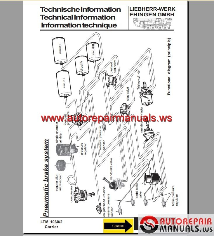 LIEBHERR A312 WHEEL EXCAVATOR OPERATION MAINTENANCE MANUAL