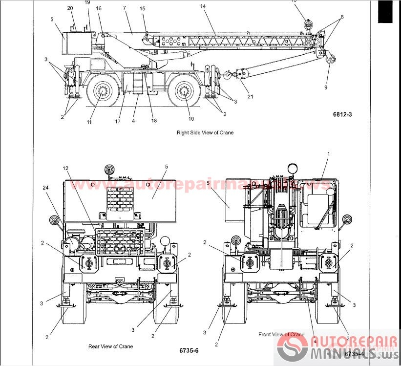 Auto Repair Manuals: Grove Crane All Service Manual