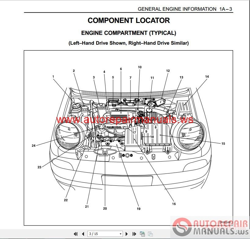 daewoo lanos timing belt diagram