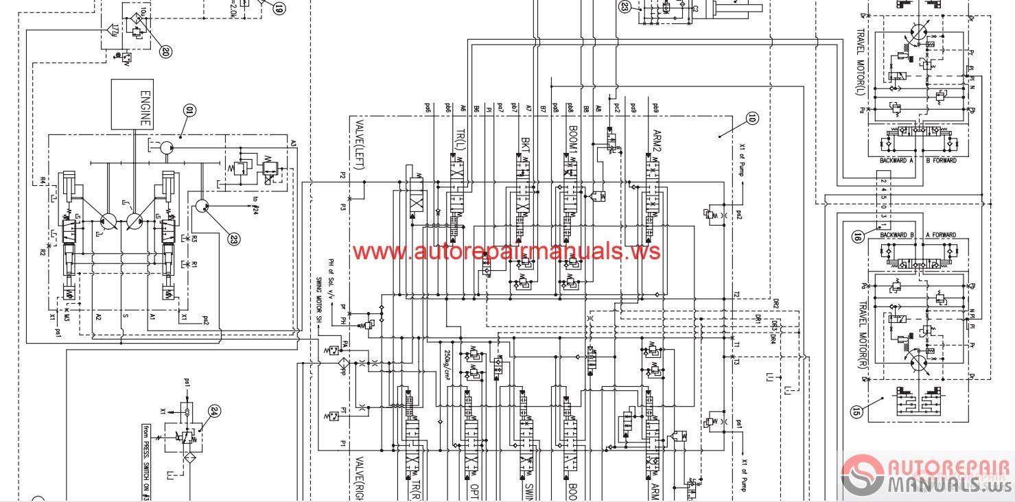hight resolution of doosan all schematics hydraulic electrical auto repair manual doosan all schematics hydraulic electrical auto repair