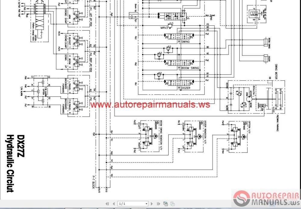 medium resolution of doosan all schematics hydraulic electrical auto repair manual doosan all schematics hydraulic electrical auto repair manuals