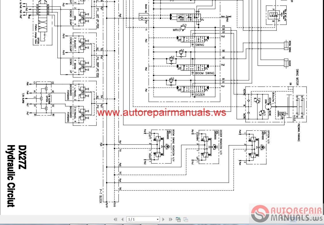 hight resolution of doosan all schematics hydraulic electrical auto repair manual doosan all schematics hydraulic electrical auto repair manuals