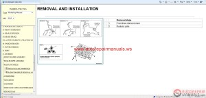 Mitsubishi Pajero 2015 Service Manual CD | Auto Repair