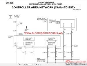 Mitsubishi Lancer Evolution X 2010 Wiring Diagrams | Auto
