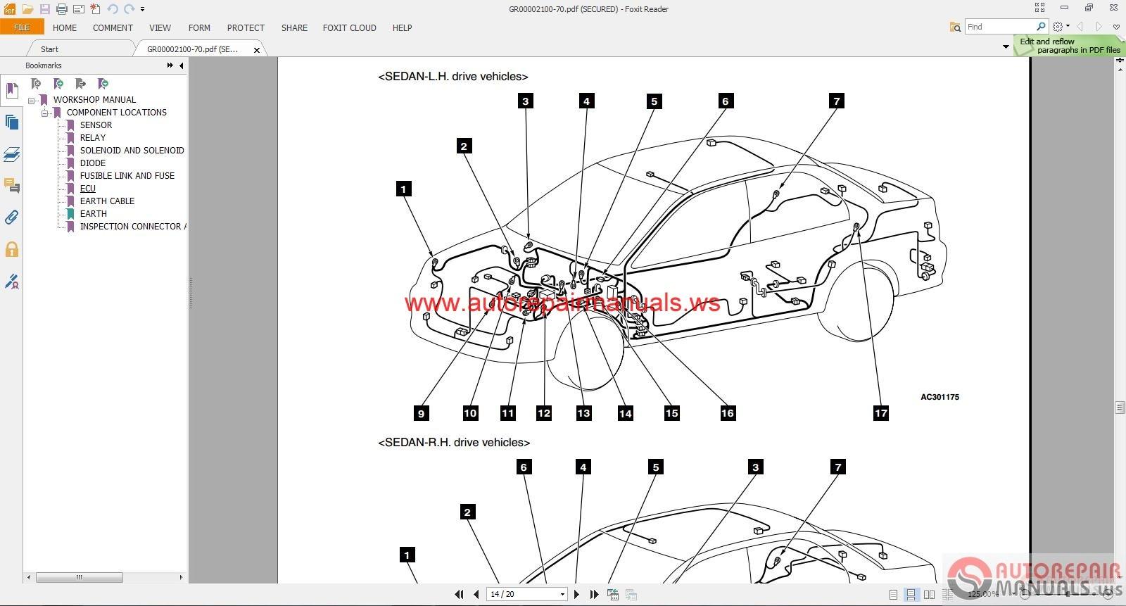 hight resolution of mitsubishi lancer ix 2004 wiring diagrams auto repair manual forum