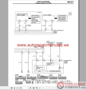 Mitsubishi Mirage 2015 Wiring Diagrams | Auto Repair
