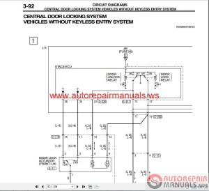 Mitsubishi Outlander May 2003 Wiring Diagrams | Auto
