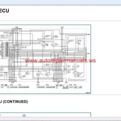 Mitsubishi Pajero Ecu Wiring Diagram 98 Ford Contour Asx 2013 Repair Service Manual Auto
