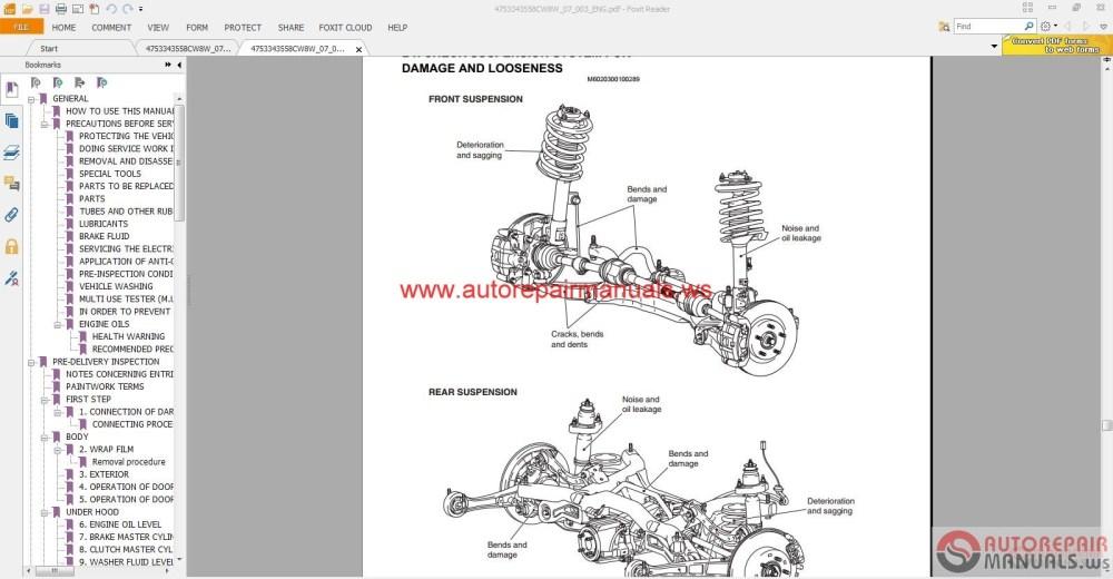 medium resolution of mitsubishi outlander 2007 service manual