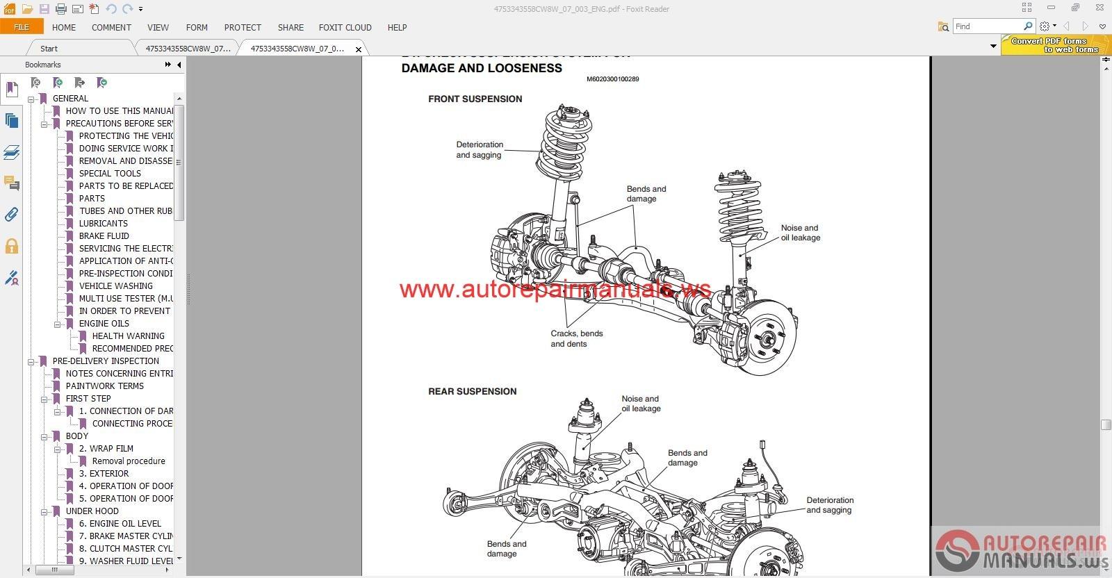 hight resolution of mitsubishi outlander 2007 service manual