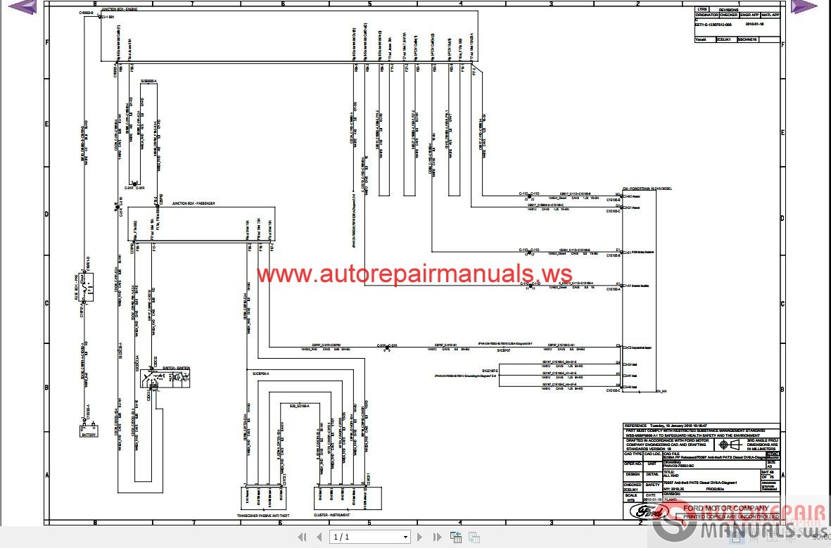 ford fiesta radio wiring diagram blank of synapse 2010 b299 auto repair manual