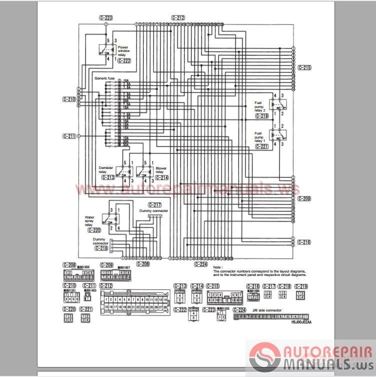 mitsubishi lancer ecu wiring diagram 1955 chevy horn evo ix 2005 workshop manual supplement   auto repair forum - heavy ...