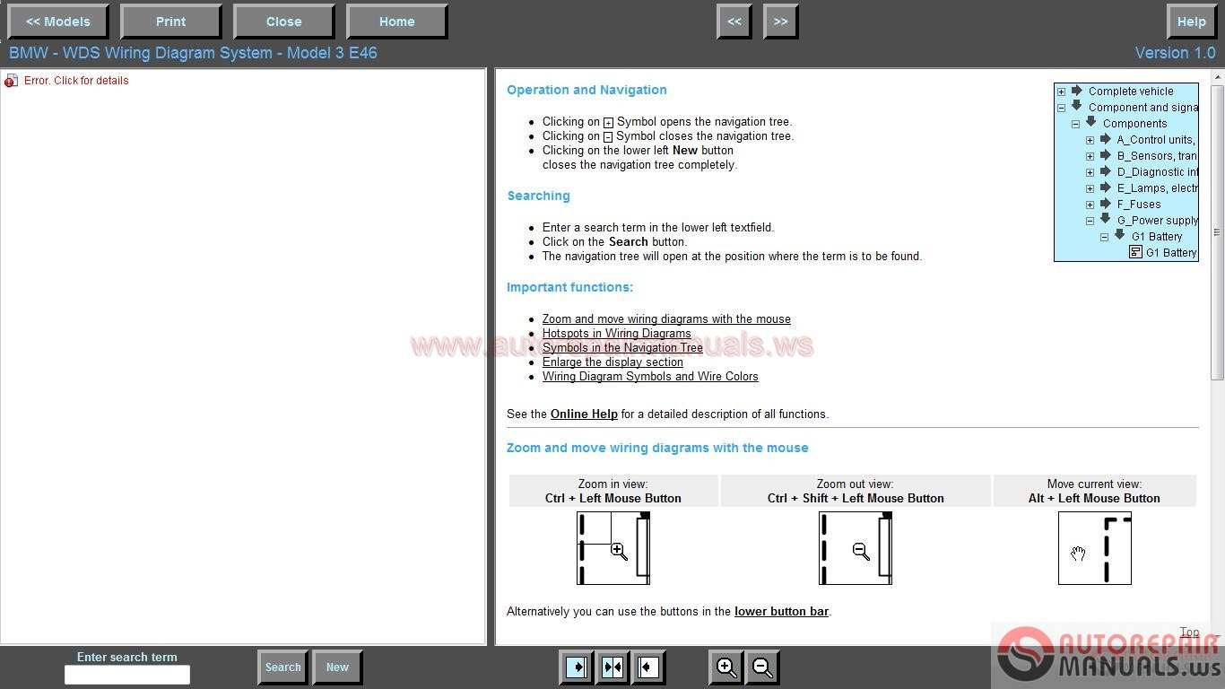 hight resolution of bmw wiring diagram system wds v1 auto repair
