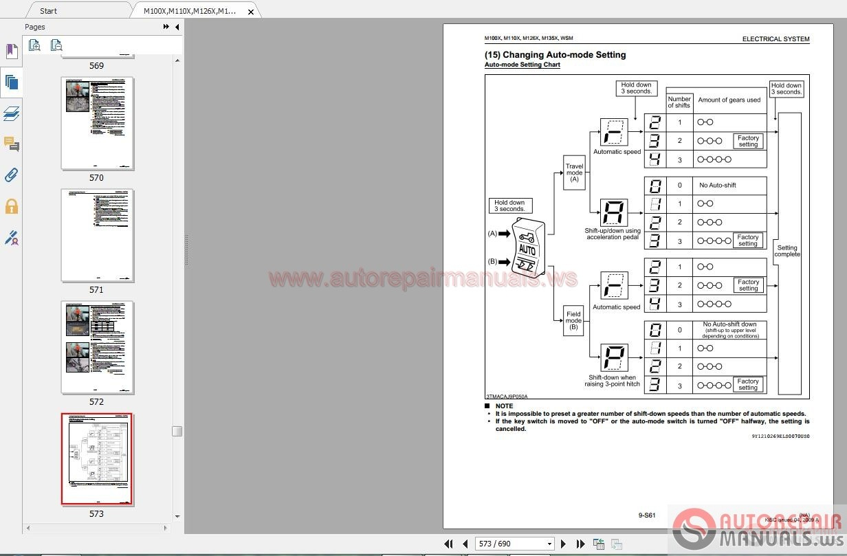 Kubota Wiring Diagram Service Manual Diagrams Pdf L3400 Tractor Starter Ignition Switch Fuel Solenoid