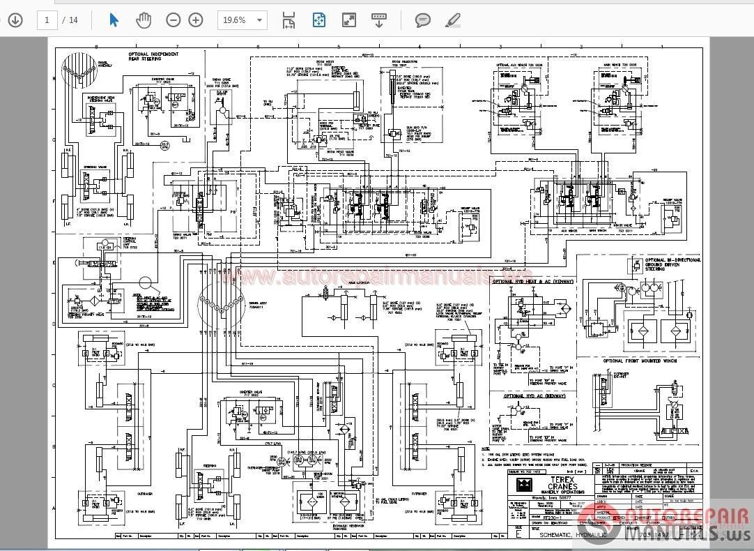 Terex Crane Wiring Diagram - terex demag cc2800 1 crawler