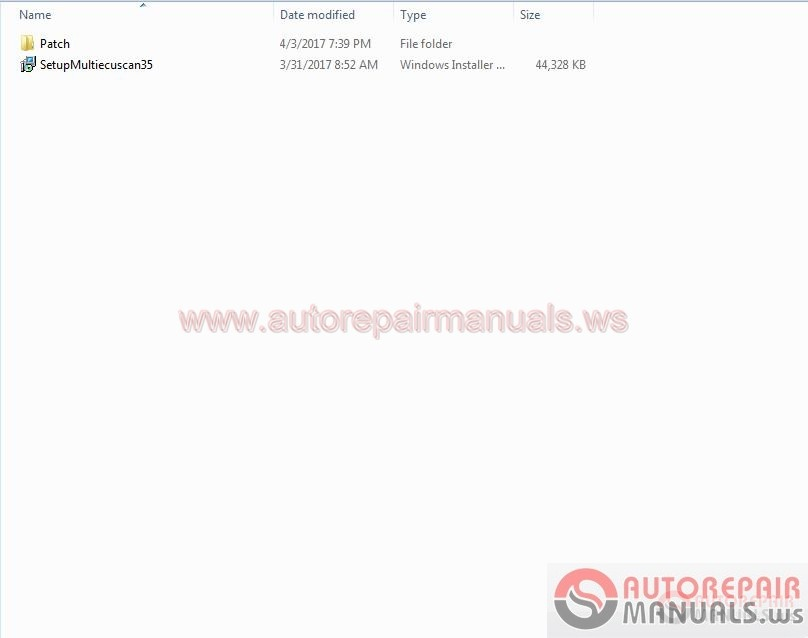Fiat Multiecuscan 3.5 [2.2017] Full Patch Instruction