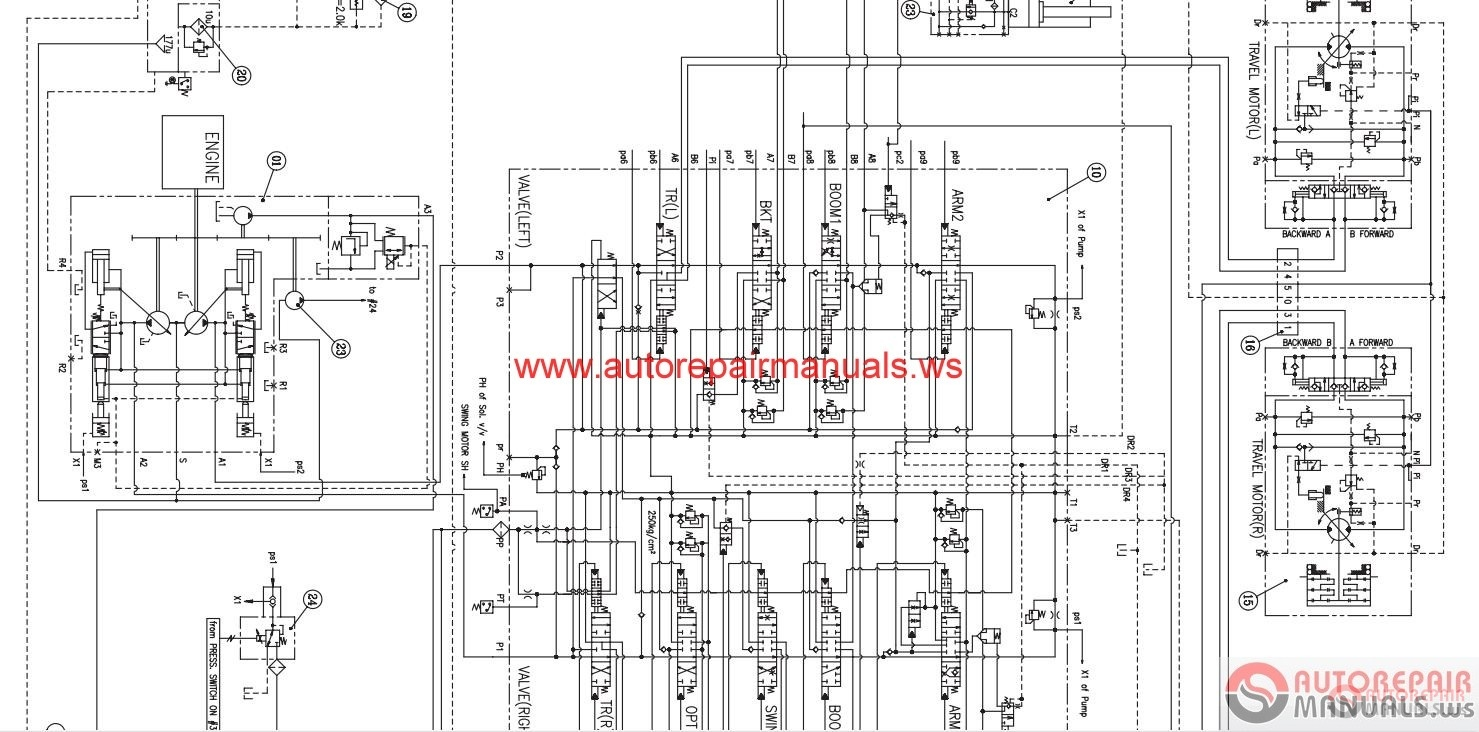 Auto Repair Manuals: [ARM0048] Doosan Daios Wirings