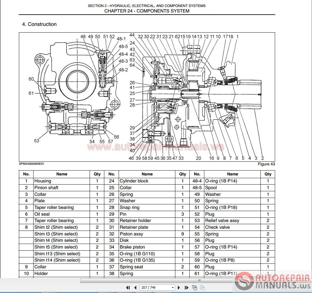 Auto Repair Manuals: Case Mini Excavator Service Manual