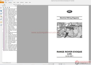 Range Rover Evoque L538 2015 Electrical Wiring Diagram