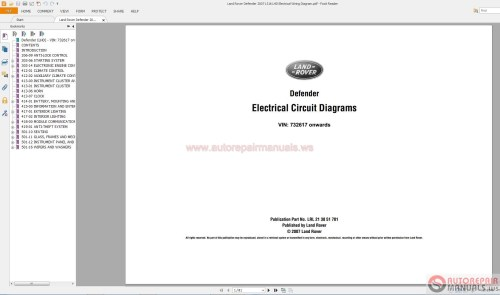 small resolution of land rover defender 2007 l316 lhd electrical wiring diagram auto