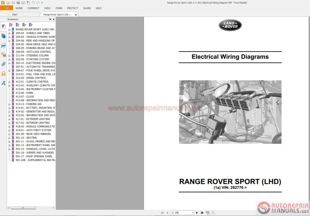 medium resolution of range rover sport wiring diagram