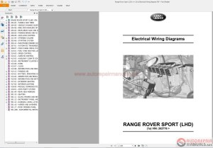 Range Rover Sport L3201~1 2011 Electrical Wiring Diagram