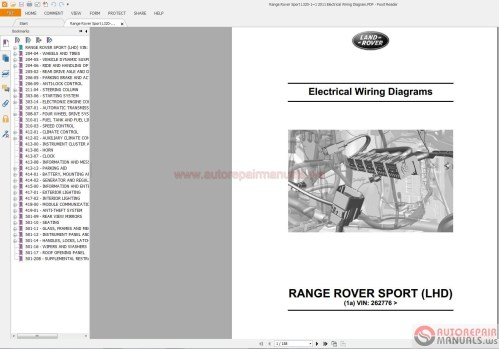small resolution of range rover sport wiring diagram