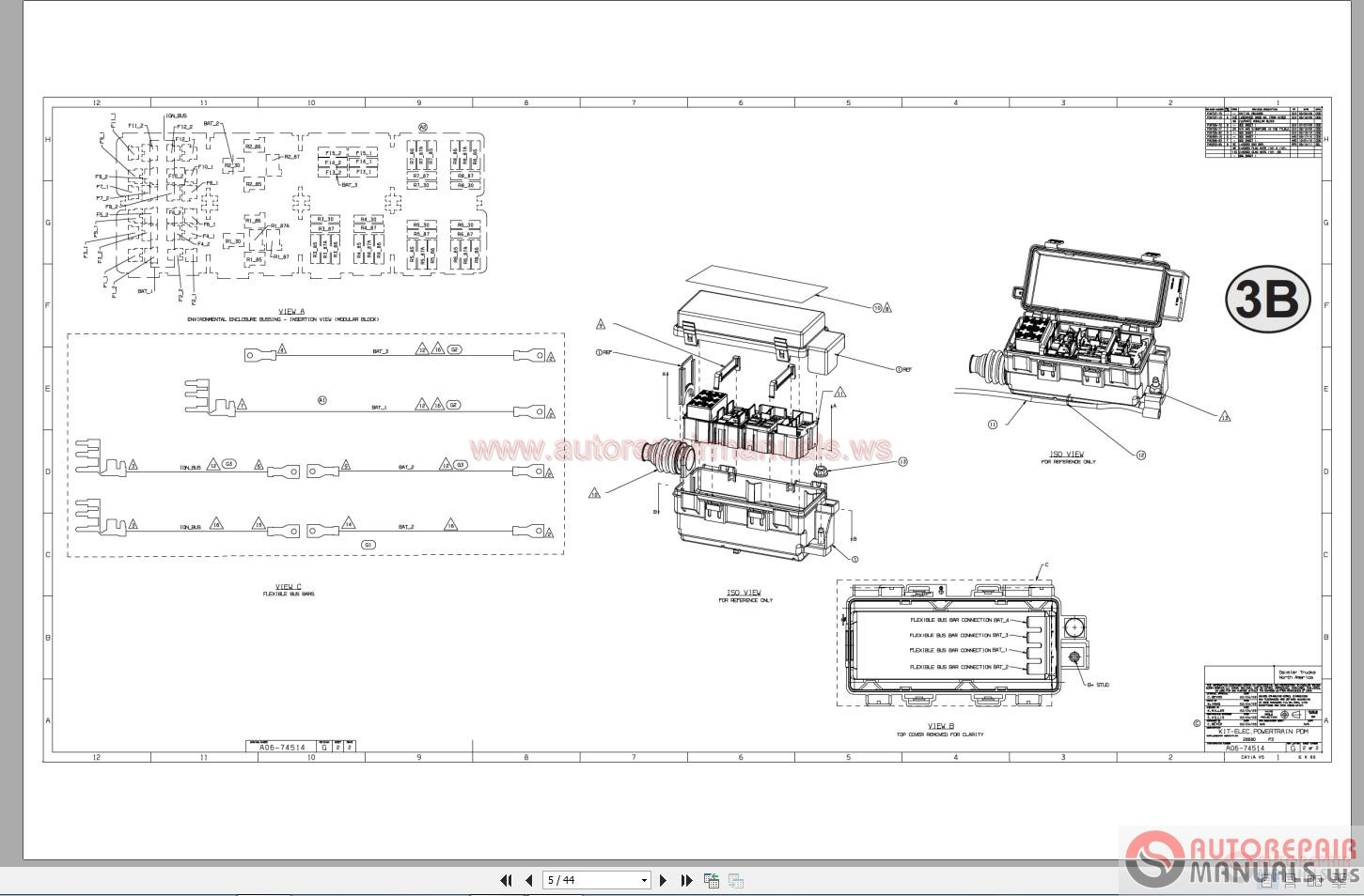 Freightliner M2 Wiring Diagrams Parts Wiring