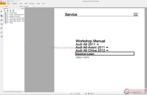 Audi A6 20122015 Service Repair Manual pdf | Auto Repair Manual Forum  Heavy Equipment Forums