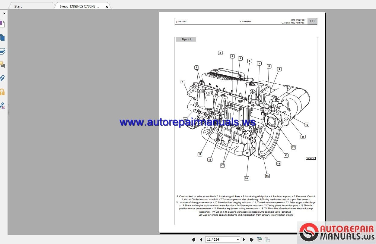 iveco daily 2007 wiring diagram 2006 impala radio engines c78ensm20 10c78entm30 10c78entm50