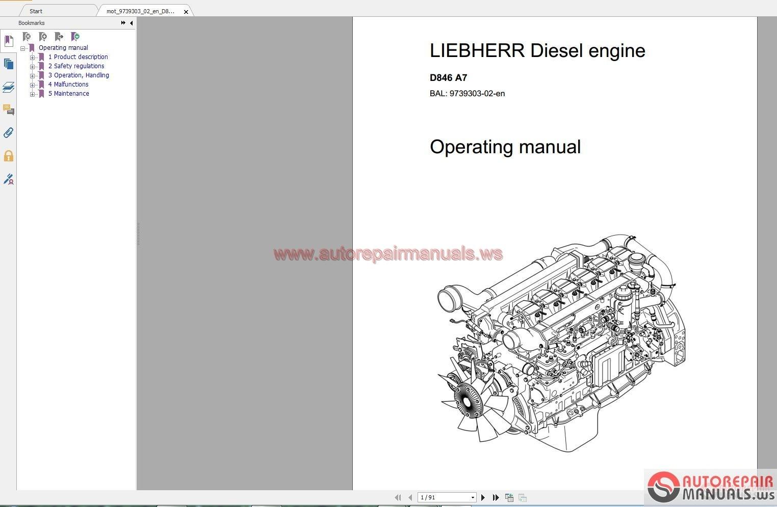 hight resolution of https www autorepairmanuals ws threads liebherr machine crane full shop manual dvd 39319