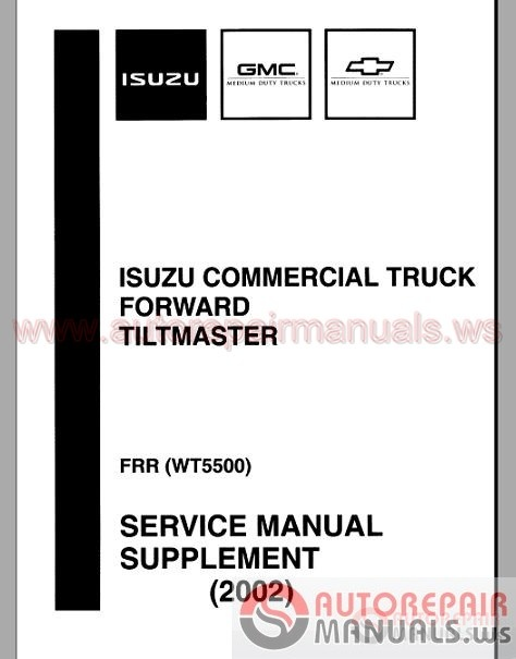 Auto Repair Manuals: Isuzu All Model Car & Truck Full Shop