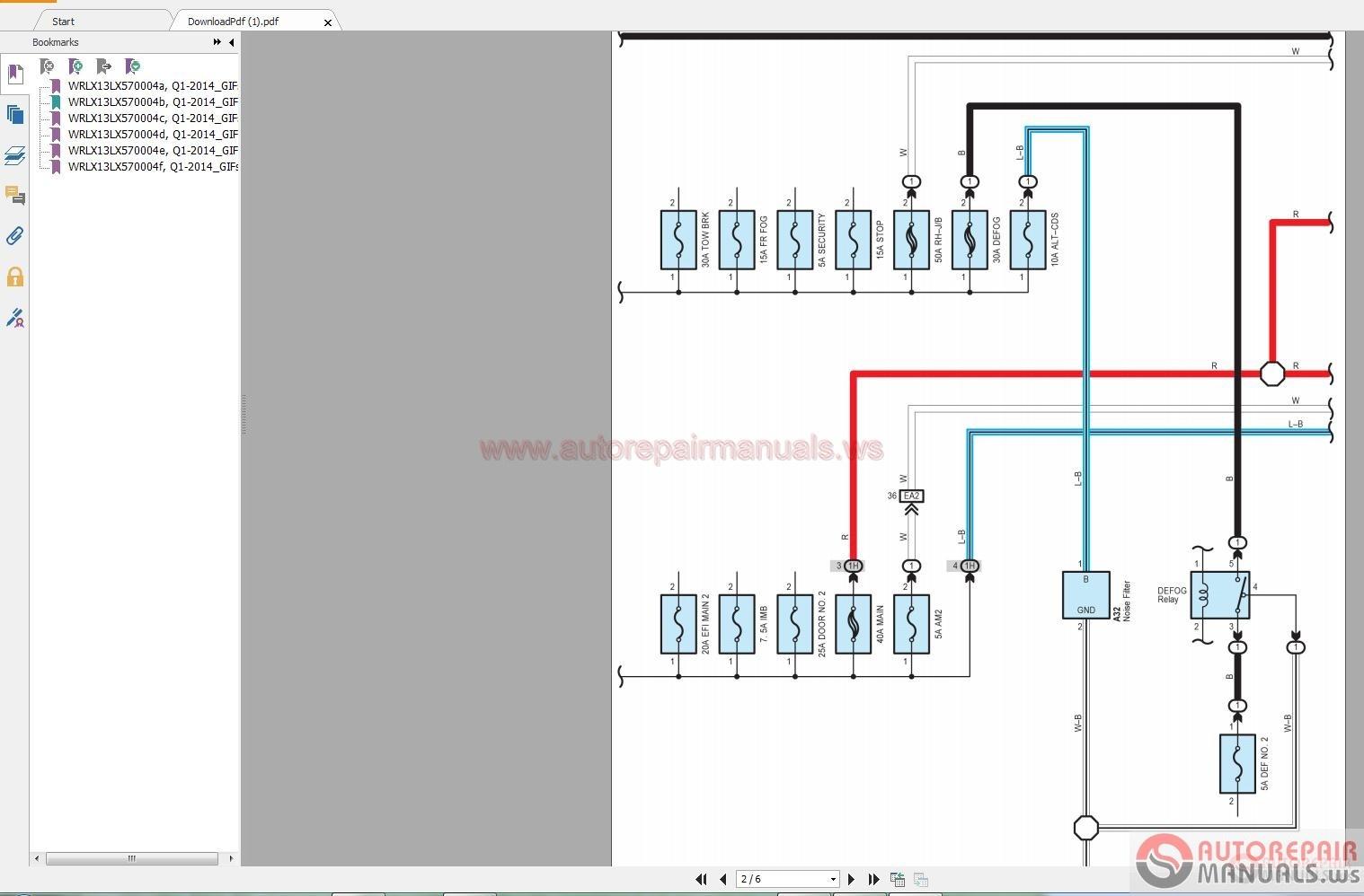 hight resolution of lexus lx570 5 7l 2015 wiring diagram