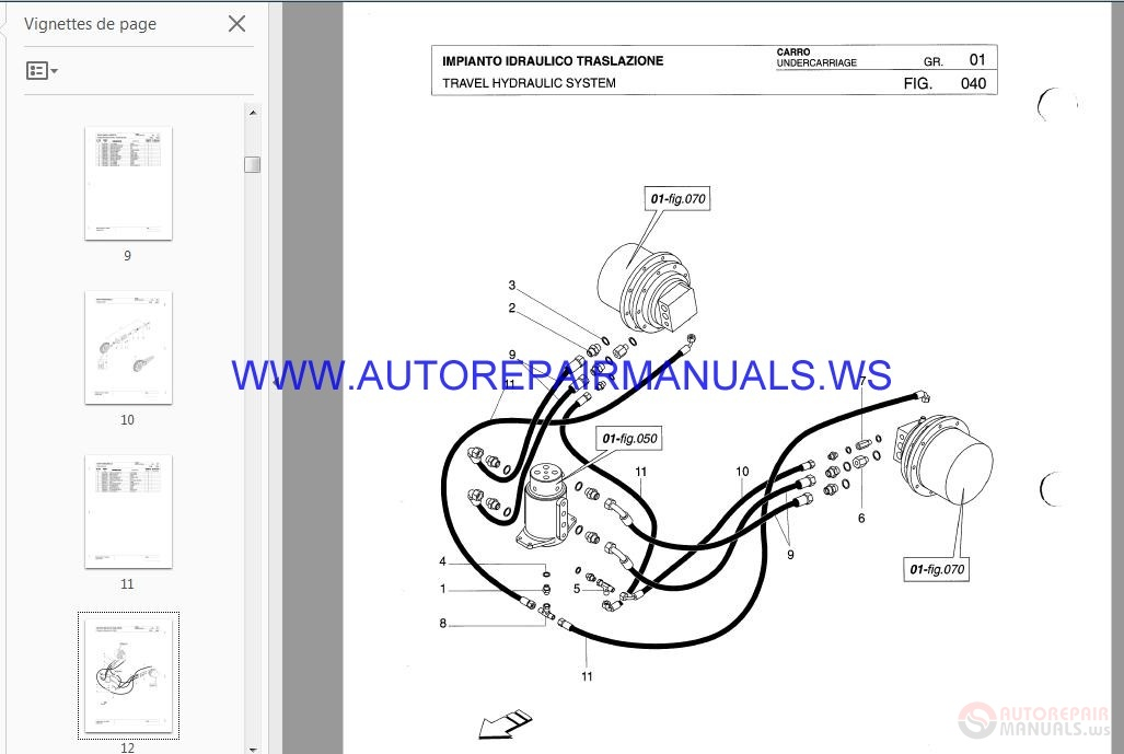 Auto Repair Manuals: Scat Trak Parts Manual